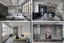 Diese Wohnung Industrielle Interieur Wurde Inspiriert Von Der Alten Produktionsflächen, Die Es, In Gebaut Wurde