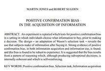 Confirmation Bias in Trading / Ed Matts talks to Sverre Nilsen about the many ways 'bias' affects markets.