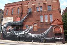 Niezwykłe murale / Amazing murals / Piękne murale, niesamowite dzieła na murach i ścianach, graffiti