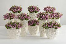 Beautiful flowers / Flower Arrangement, centre pieces, pots / by Belinda C