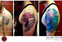 Color tattoo (studio kırmızı ı kişiye özel tasarımlar) / Studyomuzda yapılan çalışmalardan bazılarını inceleyebilirsiniz. Daha fazlası için. www.studiokirmizi.com