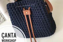 Τσάντες /crochet bags