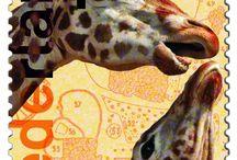 znaczki fauna