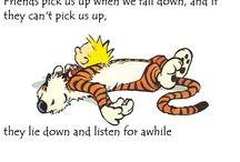 I love Calvin & Hobbes