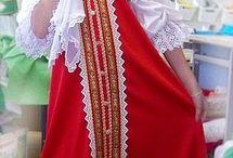 Народный костюм детям