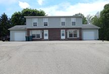 SOLD! 923-925 Prospect Ave, Beaver Dam, WI / Side by side duplex for sale. Live in one side, rent the other to help pay the mortgage!  Each unit offers: 2 bedrooms; 1 1/2 baths; full basement; 1 car garage & additional parking.