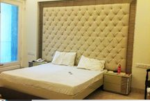 BED DESIGN / King's size bed resembles lavish essence of an enormous attitude in life. Hop in to the masterpiece and relish the cozy moments.