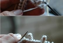 knitting or crochet