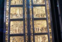 Sculture, architettura e mosaici del Battistero di Firenze / Ghiberti, Andrea Pisano e altri