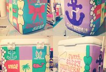 *Painted Coolers