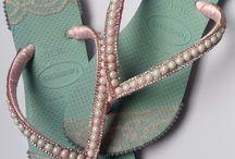 Sandálias Decoradas / Da delicadesa ao lúdico, srus pés merecem!