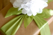Gift wrapping / by Melody Bayless