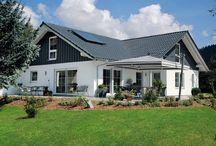 Moderne Satteldächer / Modern gable roof