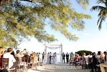 Kate Bentley Events - Real Wedding - Private Property  / Islamorada Wedding, Designed by Kate Bentley Events, Florida Keys Beach Wedding, Destination Wedding, Garden Style Floral #islamoradawedding #katebentleyevents  / by Wedding Planner & Designer-Key West