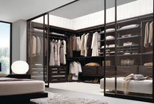 Wardrobes & dressing rooms / by Nik