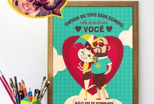 LOJINHA • STORE • PRESENTES / Lojinha da Ilustrora Clau Souza no Brasil: tenhaborogodo.com.br Worldwide Online Store: clausouzastore.etsy.com