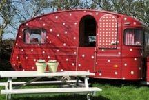 Pretty camping car♡♡♡