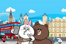 LINE Brown & Cony