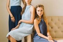 { bridesmaid dresses }