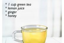detox teas, refreshing drinks