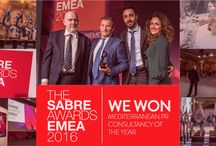 Sabre Awards 2016 / The world's biggest PR awards programme, dedicated to benchmarking the best PR work from across the globe.