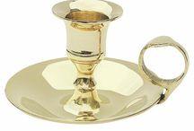 Kerzenständer / Maritime Kerzenständer aus Messing als schöne Tischdekoration oder besondere Geschenkidee.