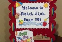 Beach theme library / by Katie Douglas
