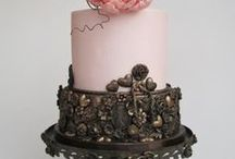 Ma verjaarsdagkoek / Salty caramel koek versiering vir Ma se 80ste