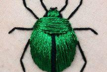 owady, haft,aplikacje