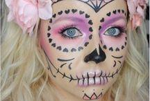 Halloweeni Makeup
