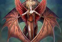 Comic & Fantasy Art / by Dee S.