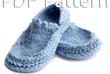 Patrón de la zapatilla de ganchillo