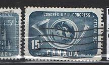 Canada znaczki