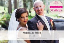 Featured Real Wedding: Maxima & Jason {from the Summer/Fall 2014 Issue of Real Weddings Magazine} / Maxima & Jason-Featured Real Wedding from the Summer/Fall 2014 issue of Real Weddings Magazine, www.realweddingsmag.com. Photos by and copyright Meredith Carty Photography & Design, www.MerCarty.com; Bridal Attire: www.HofBridal.com; Flowers: Scarlett and Grace, www.ScarlettAndGrace.com; Rentals: Camelot Party Rentals, www.CamelotPartyRentals.biz. See more here: http://www.realweddingsmag.com/featured-real-wedding-maxima-jason-from-the-summerfall-2014-issue-of-real-weddings-magazine/