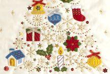 クリスマス タペストリー