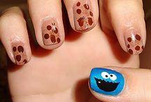 Nail Art / Creative nail paintings and designs