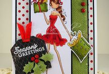 Uptown Girls Stamps by Stampin Bella