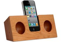 iPhone Lautsprecher aus holz / Holzlautsprecher