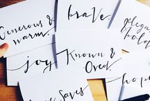 Lettered Notecards