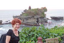 Indonesia: Tanah Lot temple (Bali) / Templo del siglo XVI de mitología balinesa e hinduismo.