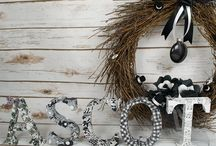 A Day at the Races - Ascot Inspiration / Ascot inspired crafts with a modern monochrome look. All influenced by the famous black and white race day scene from 'My Fair Lady'.