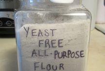 Yeast free Recipes / by Monica Thomas