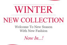 Winter New Collection / Web : www.unze.co.uk To order : + 44 (0) 333 123 8693
