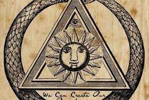 Simbologia alquimista/ocultista-tipografia medieval