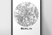 Affiches de ville Allemagne
