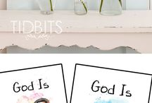 TIDBITS Winter / DIY Projects and Home Decor for winter time.
