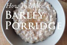 Vegan breakfast porridge