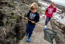 Saltrock I Kids I Autumn Winter 2016 / Discover Saltrock's autumn winter collection and explore one of our favourite North Devon spots, with Saltrock ambassadors Andrew Cotton & Jenna Goddard and friends. Inspired by our love of travel and adventure, the new collection is designed to keep the autumn chill at bay so you can get out and make the most of the great outdoors. Saltrock's fur-lined hoodies, plaid shirts, cosy knits and beanies are perfect for weekend hikes, coastal walks or bike rides with the kids.  http://www.saltrock.com