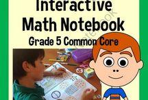 Interactive Math Notebook / by Brandi Alexander