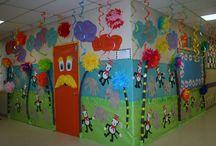 Dr Seuss Hallway Decorations